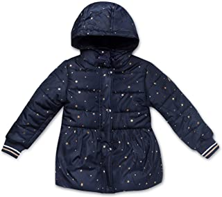 Girls Heavy Weight Jacket with Removable Hood