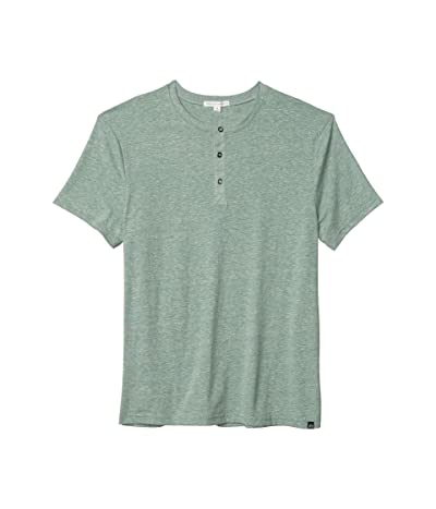 Threads 4 Thought Baseline Tri-Blend Short Sleeve Henley (Cactus) Men