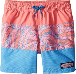 Island Palms Pieced Chappy Trunks (Toddler/Little Kids/Big Kids)