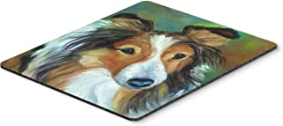 Caroline's Treasures Sheltie Curiosity Mouse Pad, Hot Pad or Trivet, Multicolor (7396MP)