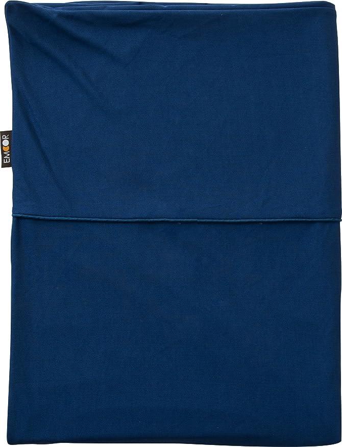 締める伝統的ゴールエムール 片面防水 掛け布団カバー ダブル ミリオンドライEX ネイビー