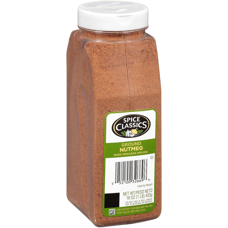 Spice Classics Ground shipfree 16 oz Nutmeg Genuine