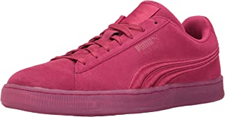 Mens Suede Classic Badge Iced Fashion Sneaker