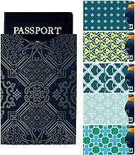 Protectores para pasaporte Protectores para prevenir RFID tarjetas de cr/édito y d/ébito. Fundas de bloqueo Matana 10 + 2 unidades