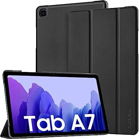 EasyAcc Hülle Kompatibel mit Samsung Galaxy Tab A7 10.4 2020 SM-T500 T505 T507, Ultra Dünn mit Standfunktion Slim PU Leder Smart Schutzhülle mit Auto Sleep Wake Up Funktion