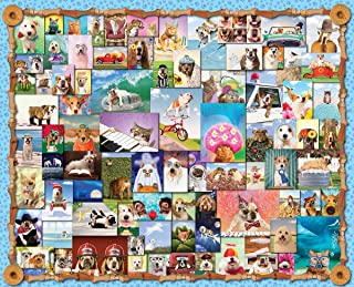 Springbok's 1000 Piece Jigsaw Puzzle Animal Quackers