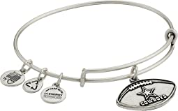 NFL Dallas Cowboys Football Charm Bangle