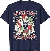 Disney Snow White All Dwarfs Ugly Christmas Sweater T-Shirt