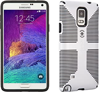 Speck Products CandyShell Grip Case for Samsung Galaxy Note 4 - Retail Packaging - White/Black