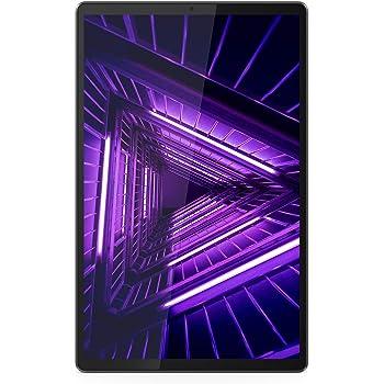 "Lenovo Tab M10 Plus (2nd Gen) Tablet, Display 10.3"" Full HD, Processore MediaTek Helio P22T, Storage 64 GB Espandibile fino a 256 GB, RAM 4 GB, WiFi+BT5.0, 4G LTE, 2 Speaker, Android Pie, Iron Grey"