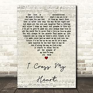 Best cross my heart wall art Reviews