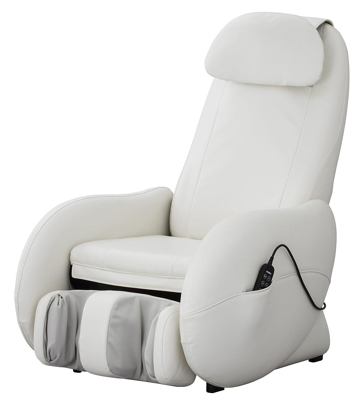 普通にホイストエミュレートするスライヴ くつろぎ指定席Light マッサージチェア CHD-3500-WH ホワイト 正規品 おしゃれ コンパクト 小型