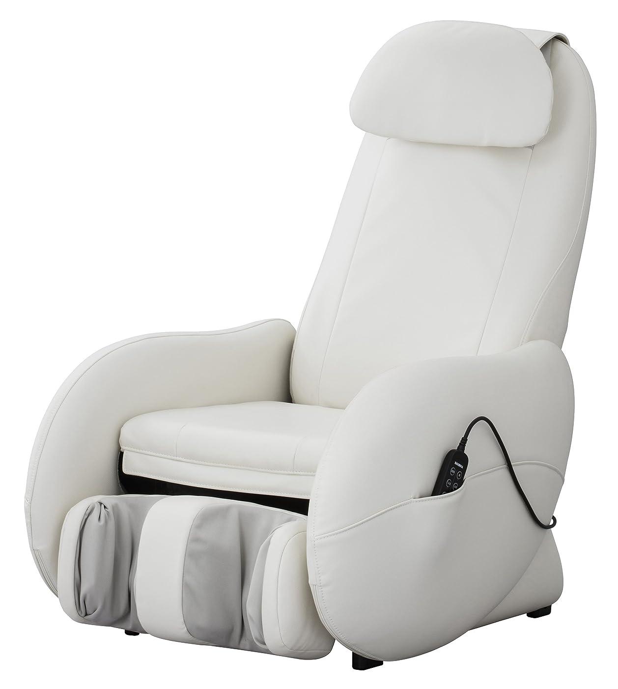 気になるネックレット彼のスライヴ くつろぎ指定席Light マッサージチェア CHD-3500-WH ホワイト 正規品 おしゃれ コンパクト 小型