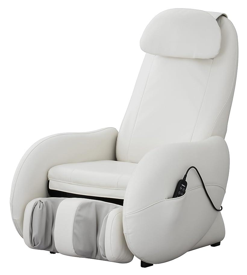 服を洗うむしろ誰もスライヴ くつろぎ指定席Light マッサージチェア CHD-3500-WH ホワイト 正規品 おしゃれ コンパクト 小型
