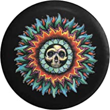 Vintage Skull in The Sun Spare Tire Cover fits SUV Camper RV Accessories 32 in
