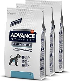 ADVANCE Veterinary Diets Gastroenteric - Pienso Para Perros Con Problemas Gastrointestinales - Pack De 3 x 3 kg - Total 9 kg
