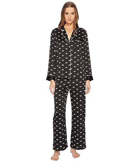 Kate Spade New York Bow Satin Pajama Set