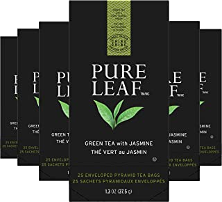 Pure Leaf Green with Jasmine Enveloped Hot Tea Bags Single Origin: China, Made with Tea Leaves Sourced from Rainforest All...