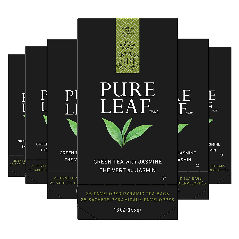 Pure Leaf Max 48% OFF Green with Jasmine Enveloped Hot Origi Single Bags Jacksonville Mall Tea