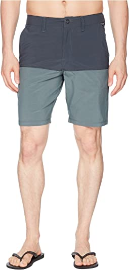 Surf N' Turf Block Hybrid Shorts