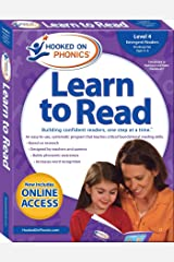 Hooked on Phonics Learn to Read - Level 4: Emergent Readers (Kindergarten | Ages 4-6) (4) Paperback