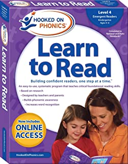 Hooked on Phonics Learn to Read - Level 4, Volume 4: Emergent Readers (Kindergarten Ages 4-6)