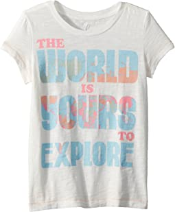 The World is Yours Tee (Toddler/Little Kids/Big Kids)