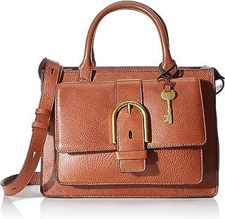 Fossil Wiley Leather 28.57 cms Cognac Gym Shoulder Bag (ZB7958200)