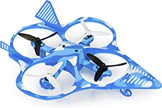 eWonderWorld Wonder Chopper Drone For Kids & Beginners Easy To Fly Fighter Jet Quadcopter with Led Lights – Toy RC Plane