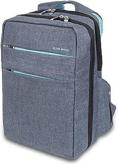 Mochila de asistencia domiciliaria biotono | Modelo CITY'S | Elite Bags | Medidas: 40 x 28 x 14 cm | Diseño práctico y moderno
