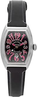 Franck Muller Conquistador Mechanical (Automatic) Black Dial Womens Watch 8005 L SC (Certified Pre-Owned)