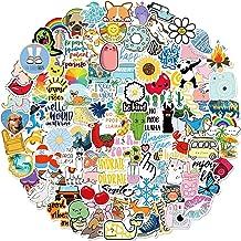 Stickers for Water Bottles, 100 Pack/PCS Hydroflask Stickers Aesthetic Waterproof Cute Vsco Vinyl Stickers Laptop Skateboa...