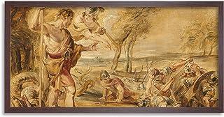 Peter Paul Rubens Cadmus Sådd Dragons Tänder Inramad Väggkonst Tryck Lång 25 x 30 cm