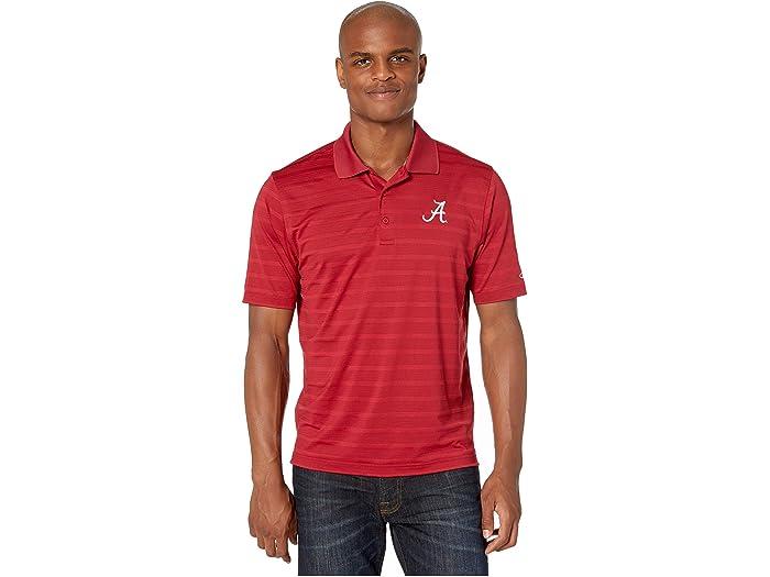 Champion College Alabama Crimson Tide Textured Solid Polo