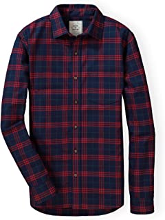 Hope & Henry Men's Brushed Cotton Button Down Shirt