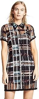 peach mesh dress