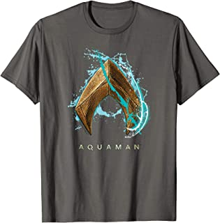 Aquaman Movie Water Shield T-Shirt