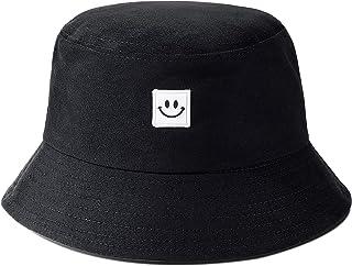 IMIVIO Bucket Hat for Women Teen Girls Unisex Cotton Beach Hat Foldable Summer Travel Sun Hats Fisherman Cap for Teens