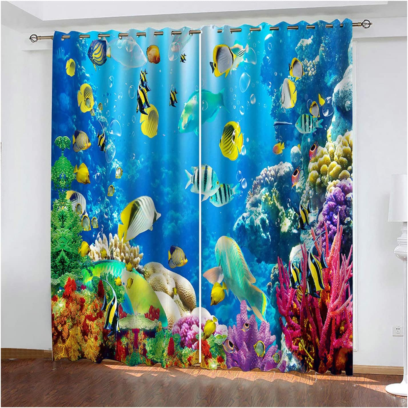 MoAndy Curtains for Bedroom 2 Inventory cleanup selling sale Panels Boys 54 72 overseas x Inch