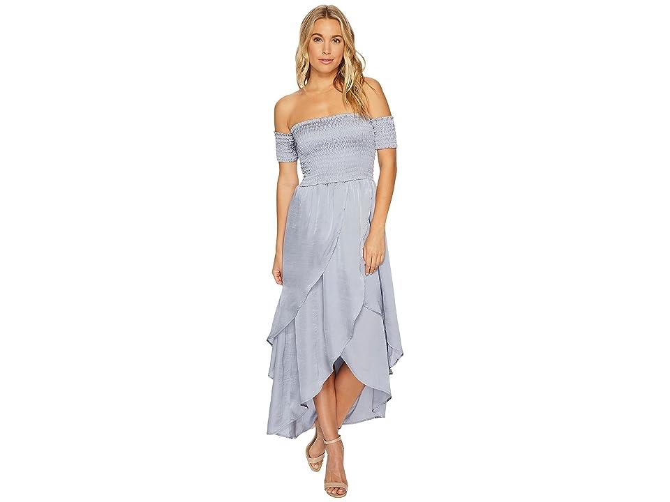 Lucy Love Portrait Dress (Pewter) Women