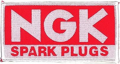 東洋マーク NGK SPARK PLUGS 刺繍 ワッペン 接着芯タイプ GA-84