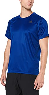 adidas Men's BK0961 D2M Plain T-Shirt, White, 2XL