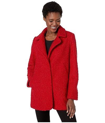 Karen Kane Boucle Coat (Red) Women