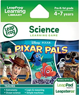 LeapFrog Pixar Pals Learning Game (for LeapPad Platinum, LeapPad Ultra, LeapPad1, LeapPad2, LeapPad3, Leapster Explorer, LeapsterGS Explorer)