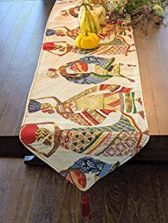african table runner