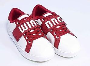 [Windbro] レディース ゴルフシューズ 07 ビッグロゴ スパイクレス 透明 迷彩ソール