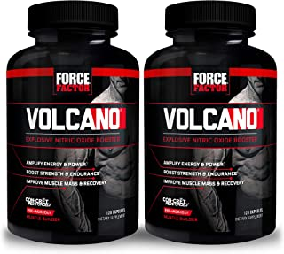 Force Factor Volcano 120ct 2-Pack, 240 Count