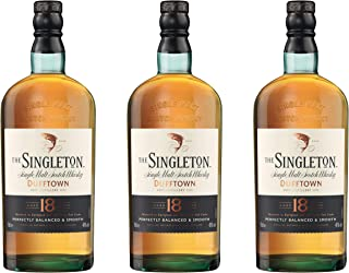 Singleton Of Dufftown 18 Years/Jahre, 3er, Malt, Whisky, Scotch, Alkohol, Alkoholgetränk, Flasche, 40%, 700 ml, 661597
