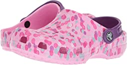 Crocs Kids Classic Graphic Clog (Toddler/Little Kid)