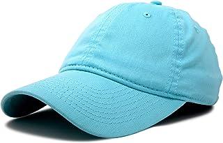 bd339d2f DALIX Womens Cap Adjustable Hat 100% Cotton Black White Gold Lavender Blue  Pink Lime Green